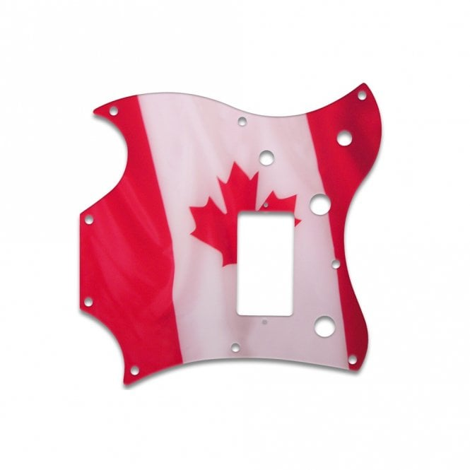 WD Music 2011 Gibson Sg Melody Maker - Canadian Flag