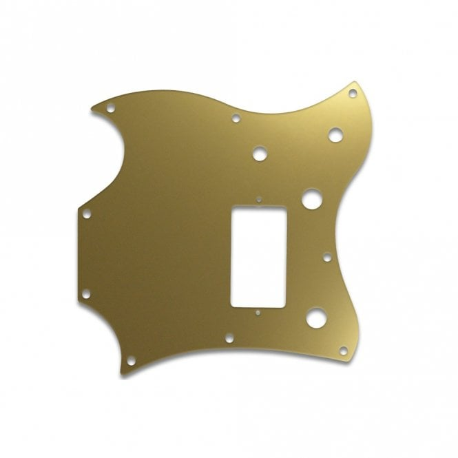 WD Music 2011 Gibson Sg Melody Maker - Gold Mirror