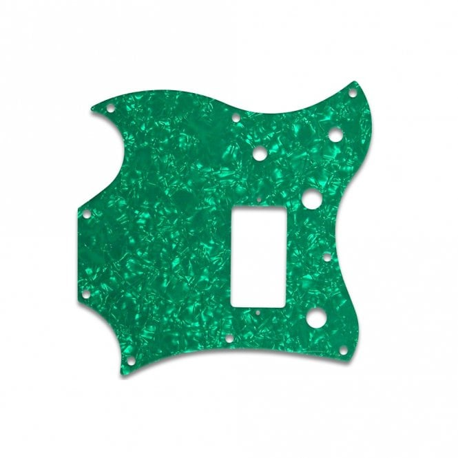 WD Music 2011 Gibson Sg Melody Maker - Green Pearl W/B/W Lamination