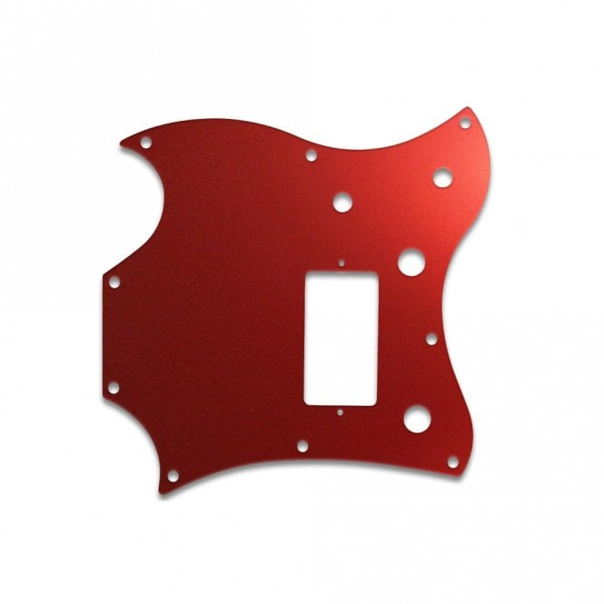 WD Music 2011 Gibson Sg Melody Maker - Red Mirror
