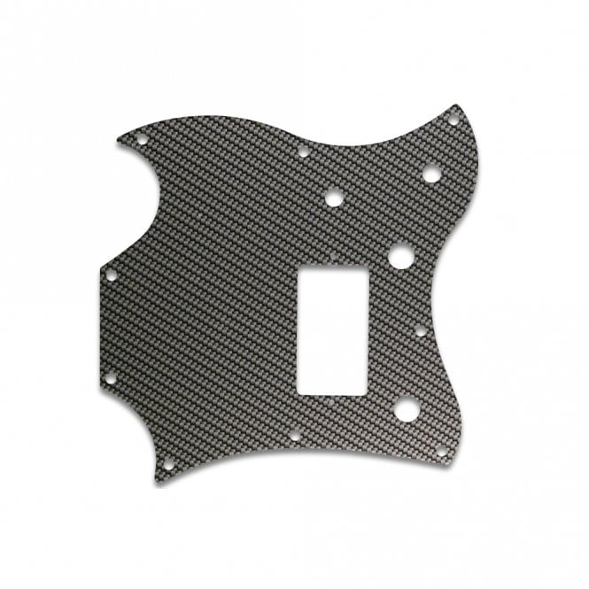 WD Music 2011 Gibson Sg Melody Maker - Simulated Carbon Fiber