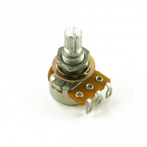 250k Mini Pot Linear Taper. Comes Complete With Mounting Nuts And Washers