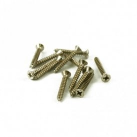 Bass Bridge Mounting Screw Nickel (Bag of 12)