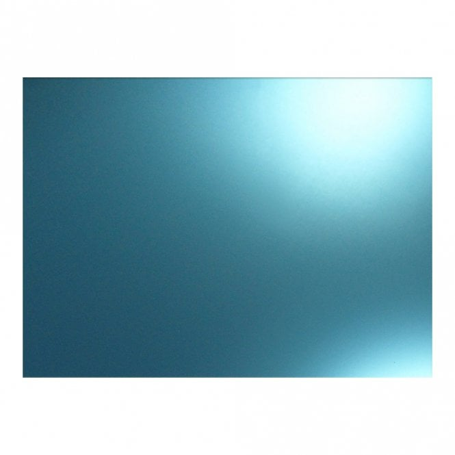 "WD Music BLANK MIRROR BLUE 9"" X 15 1/2"