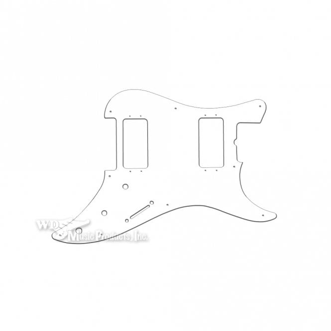 WD Music Bullet 2 Humbuckers - Solid White