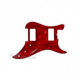 Bullet 2 Humbuckers - Tortoise Shell Red