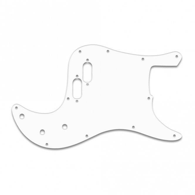 WD Music Bullet Bass - White Thin
