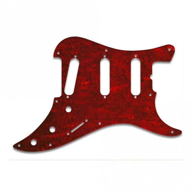 WD Music Bullet Guitar - Tortoise Shell Style Red (Pvc)