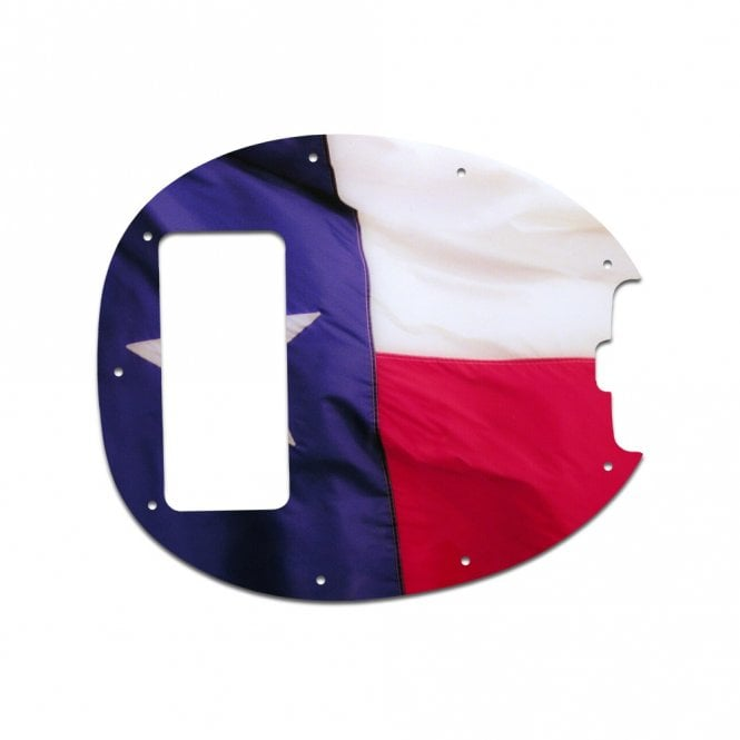 WD Music Classic Stingray 5 String Bass - Texas Flag