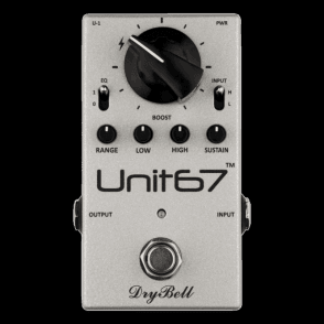 Unit67 EQ Boost and Compressor Pedal