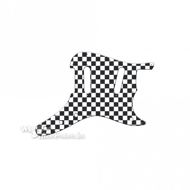 WD Music Duosonic Replacement Pickguard for Original Models - Checkerboard