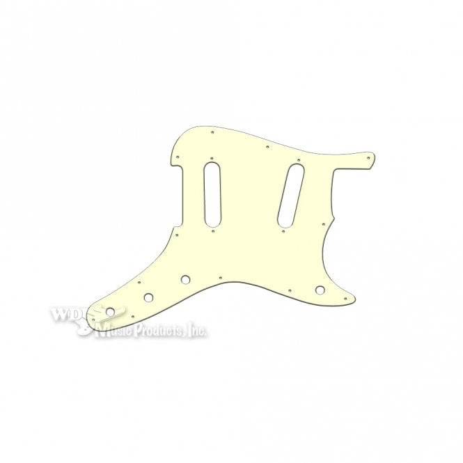 WD Music Duosonic Replacement Pickguard for Original Models - Parchment Thin