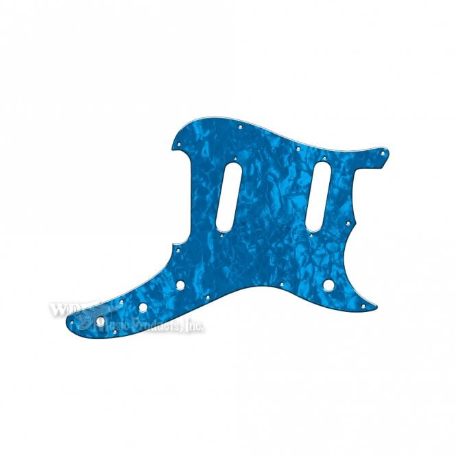 WD Music Duosonic Replacement Pickguard for Reissue Model - Blue Pearl