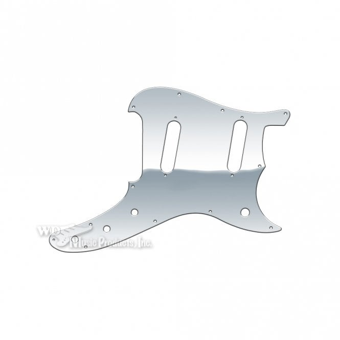 WD Music Duosonic Replacement Pickguard for Reissue Model - Clear Mirror