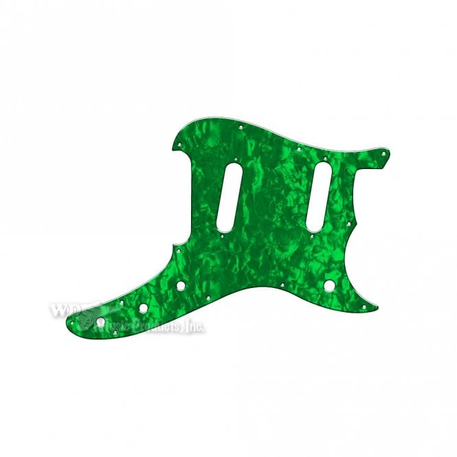WD Music Duosonic Replacement Pickguard for Reissue Model - Green Pearl