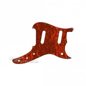 Duosonic Replacement Pickguard for Reissue Model - Red Pearl