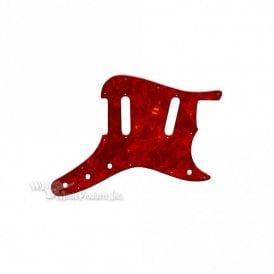 Duosonic Replacement Pickguard for Original Models - Tortoise Shell Red