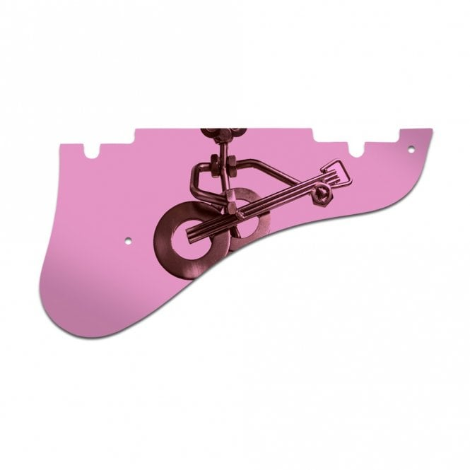 WD Music Epiphone Emperor Swingster - Pink Mirror