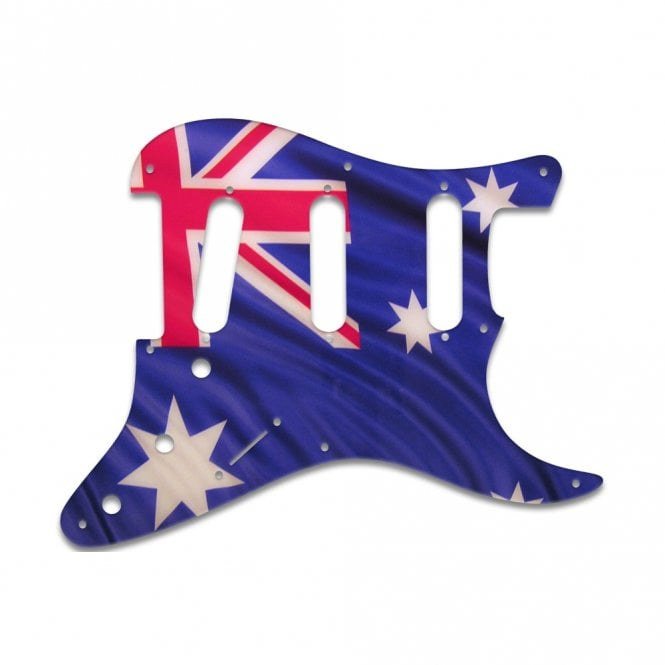 WD Music Eric Johnson/Eric Clapton/Stevie Ray Vaughan Signature Strats - Aussie Flag