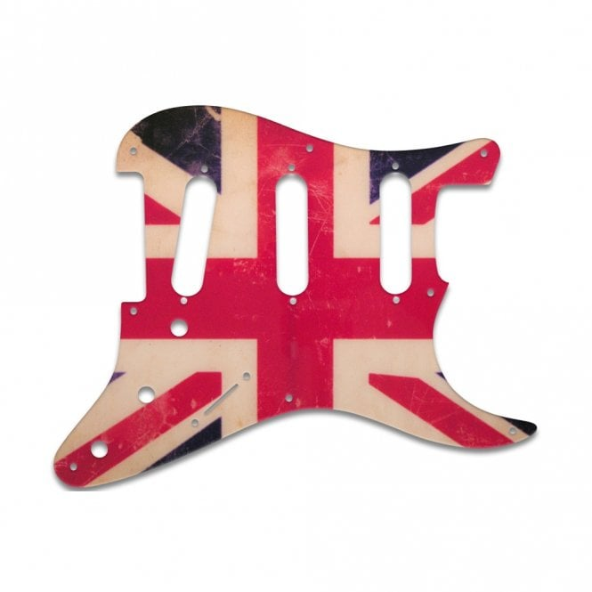 WD Music Eric Johnson/Eric Clapton/Stevie Ray Vaughan Signature Strats - British Flag Relic