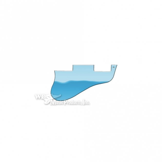 WD Music ES-335 Replacement Pickguard for USA 1960's Era Original and Reissue Models - Blue Mirror