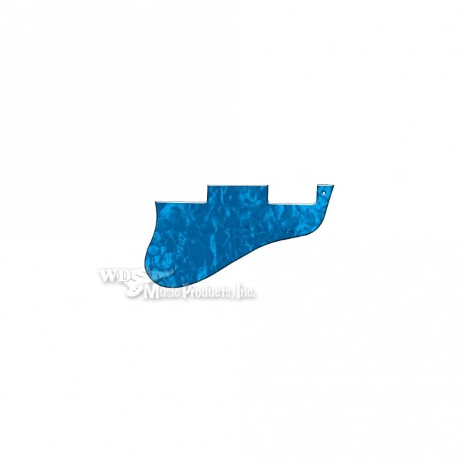WD Music ES-335 Replacement Pickguard for USA 1960's Era Original and Reissue Models - Blue Pearl