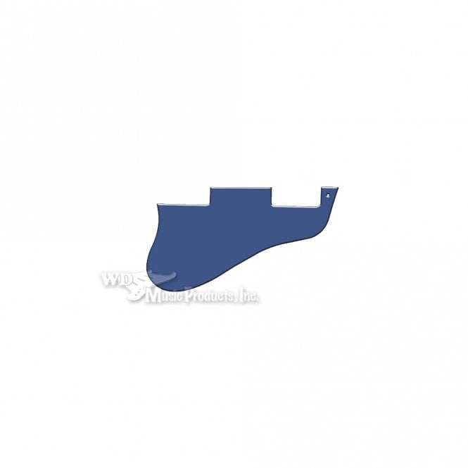 WD Music ES-335 Replacement Pickguard for USA 1960's Era Original and Reissue Models - Blue White Blue