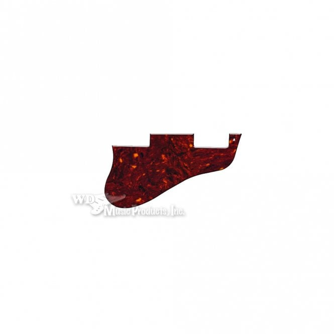 WD Music ES-335 Replacement Pickguard for USA 1960's Era Original and Reissue Models - Brown Tortoise Shell