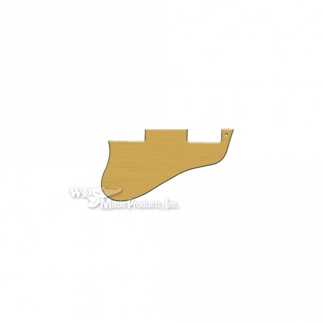 WD Music ES-335 Replacement Pickguard for USA 1960's Era Original and Reissue Models - Brushed Gold