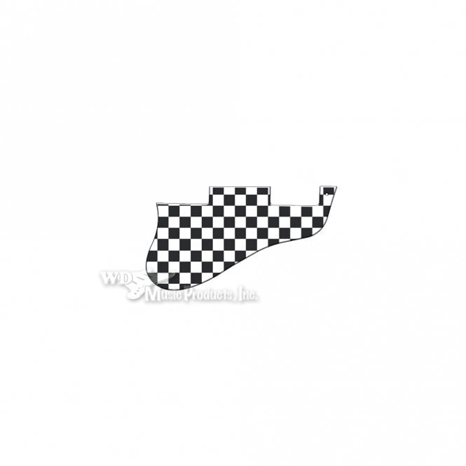 WD Music ES-335 Replacement Pickguard for USA 1960's Era Original and Reissue Models - Checkerboard