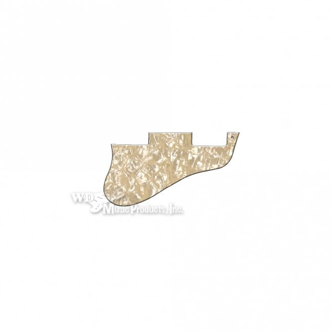 WD Music ES-335 Replacement Pickguard for USA 1960's Era Original and Reissue Models - Cream Pearl