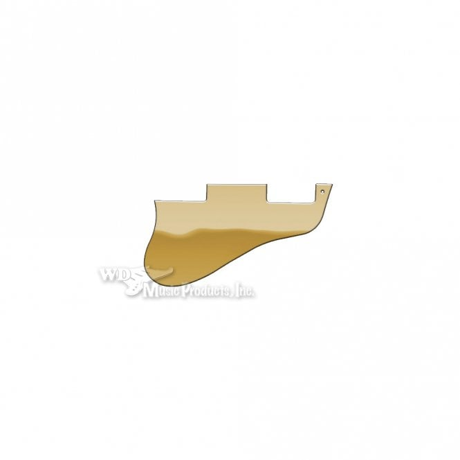 WD Music ES-335 Replacement Pickguard for USA 1960's Era Original and Reissue Models - Gold Mirror