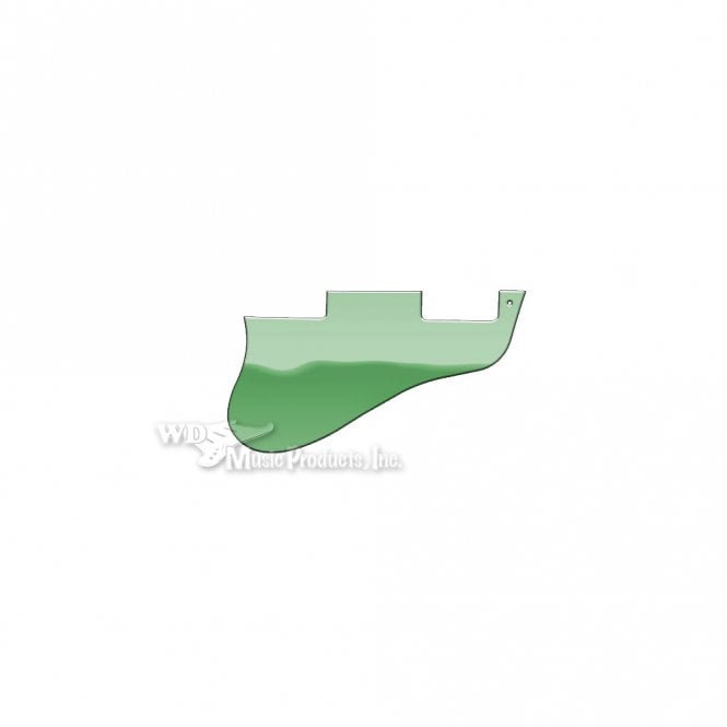 WD Music ES-335 Replacement Pickguard for USA 1960's Era Original and Reissue Models - Green Mirror