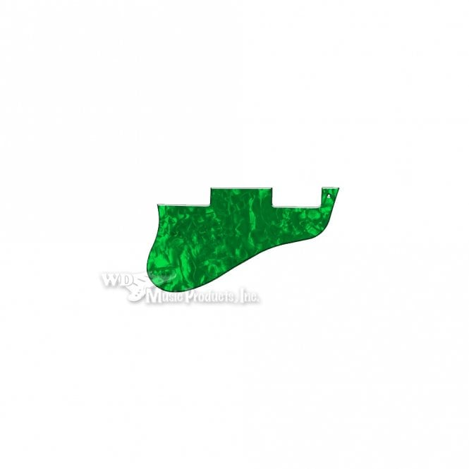 WD Music ES-335 Replacement Pickguard for USA 1960's Era Original and Reissue Models - Green Pearl
