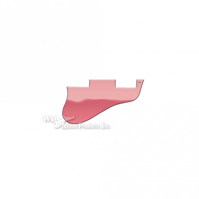 WD Music ES-335 Replacement Pickguard for USA 1960's Era Original and Reissue Models - Pink Mirror