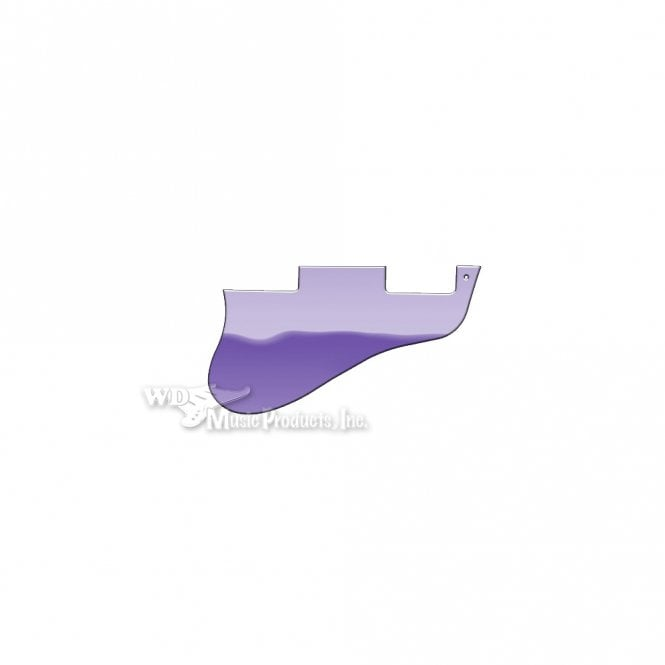 WD Music ES-335 Replacement Pickguard for USA 1960's Era Original and Reissue Models - Purple Mirror