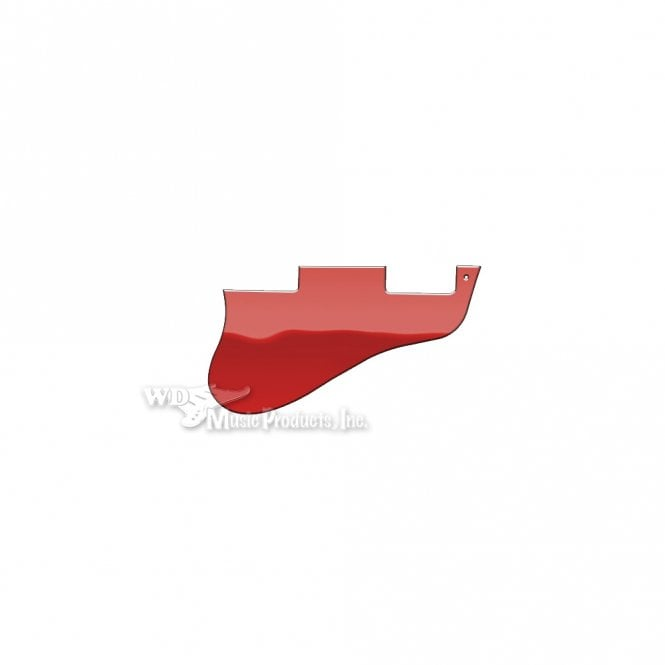 WD Music ES-335 Replacement Pickguard for USA 1960's Era Original and Reissue Models - Red Mirror