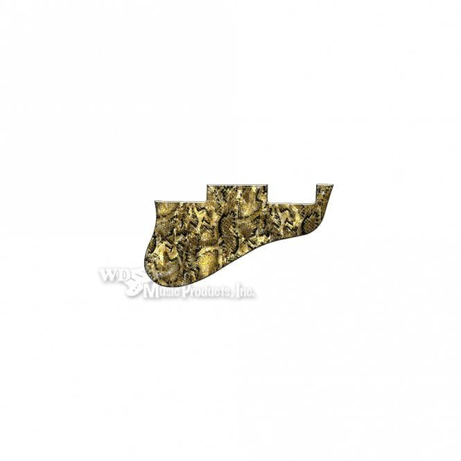 WD Music ES-335 Replacement Pickguard for USA 1960's Era Original and Reissue Models - Snakeskin