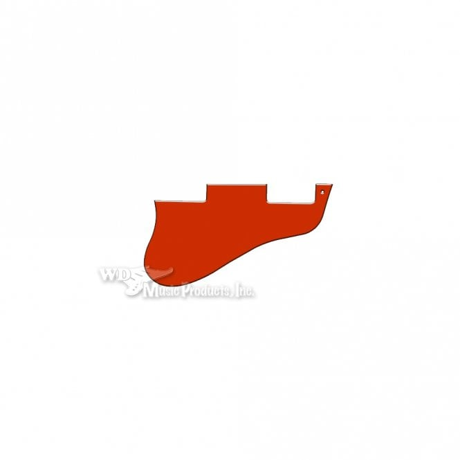 WD Music ES-335 Replacement Pickguard for USA 1960's Era Original and Reissue Models - Solid Red