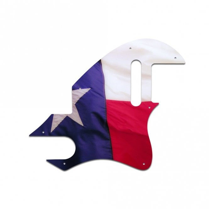 WD Music F Hole Tele - Texas Flag