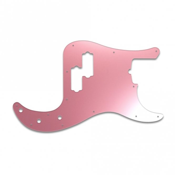 WD Music Fender American 5 String P Bass - Pink Mirror