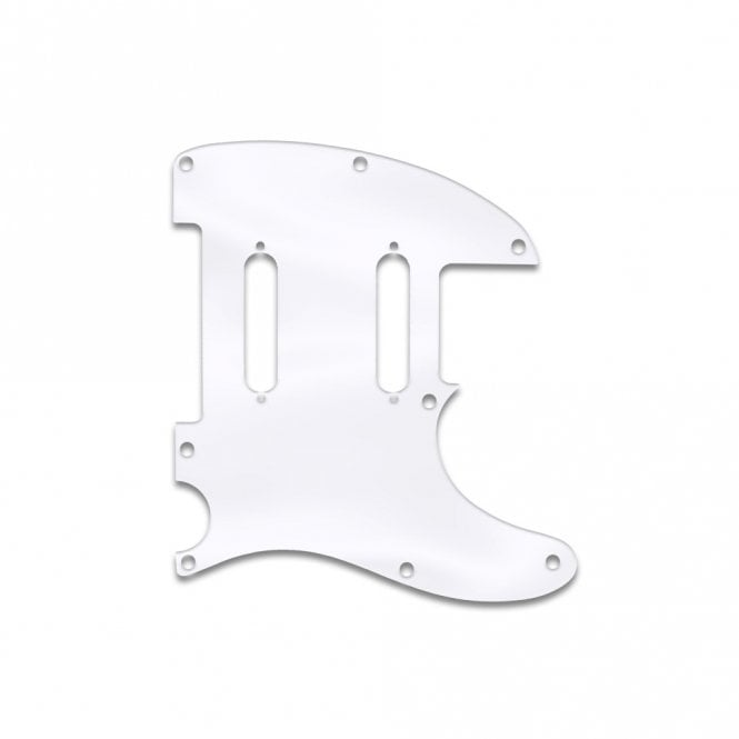 WD Music Fender Blacktop Baritone Telecaster - Clear Acrylic (.125)