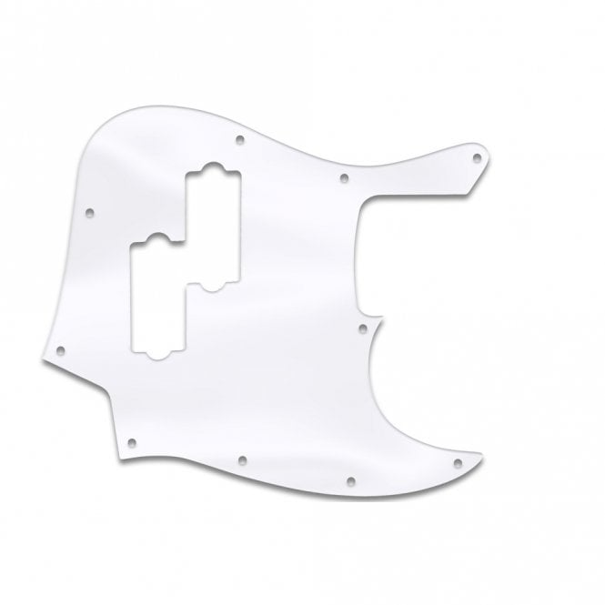 WD Music Fender Blacktop Jazz Bass - Clear Acrylic (.125)