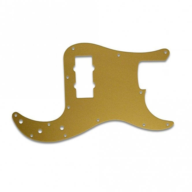 WD Music Fender Blacktop Precision Bass - Gold/Clear/Gold