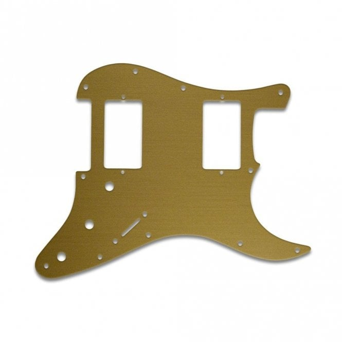 WD Music Fender Blacktop Series Strat 2 Humbuckers - Brushed Gold