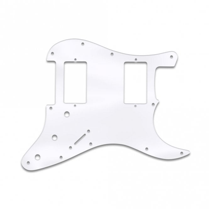 WD Music Fender Blacktop Series Strat 2 Humbuckers - Clear Acrylic (.125)