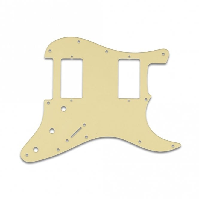 WD Music Fender Blacktop Series Strat 2 Humbuckers - Cream .090