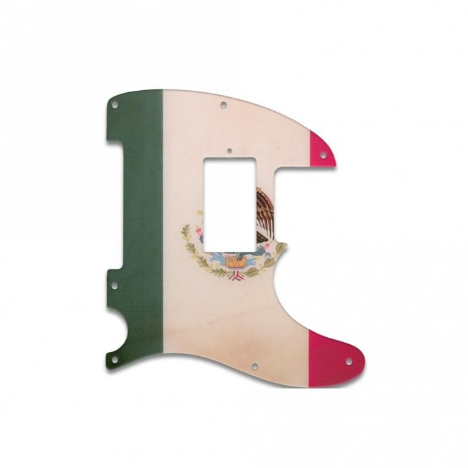 WD Music Fender Blacktop Series Telecaster - Mexican Flag Relic