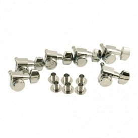 Locking Tuners 6 in Line Chrome with Two Pin Mounting