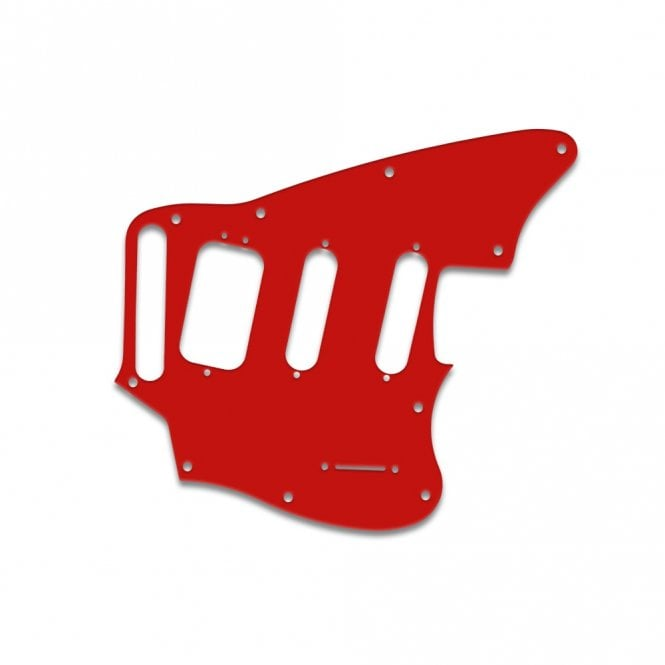 WD Music Fender Pawn Shop Jaguarillo - Red White Red